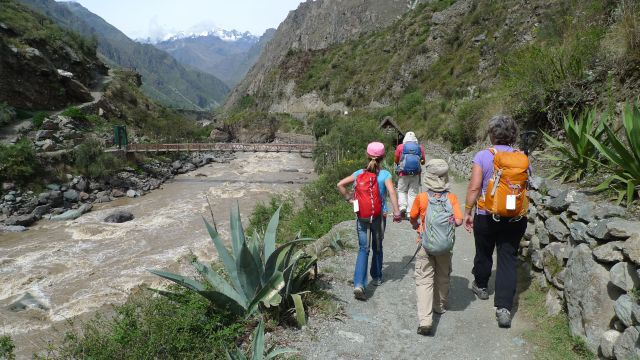 Beginning the Inca Trail