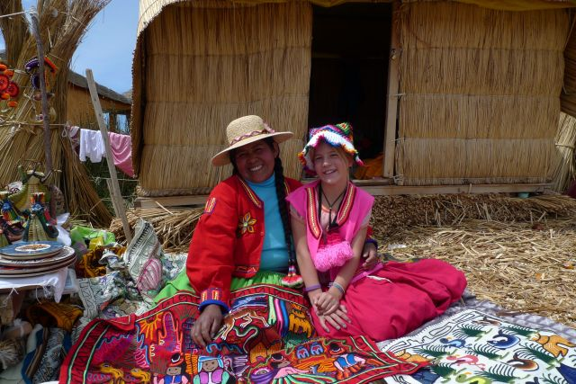 Rampant Commercialism on Lake Titicaca