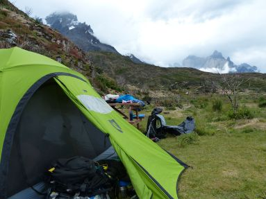 Our Last Camp - Paine Grande