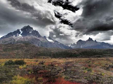 Fun with Photos - Dramatic Torres del Paine