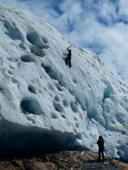 Colburn ice climbing