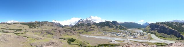 The area around El Chaltén