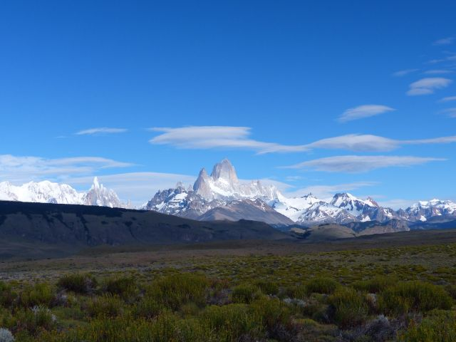 The high desert near El Chaltén