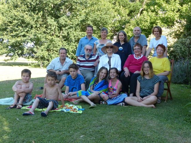 With Granny and Jean and Our Argentine Family
