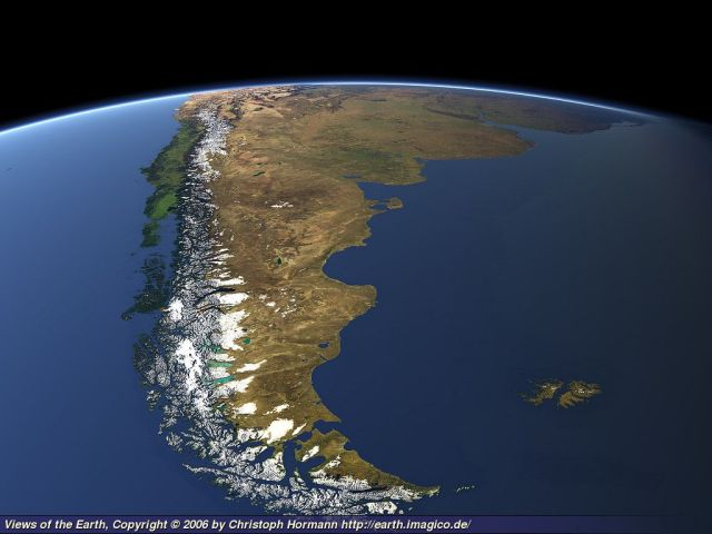 The region of Patagonia