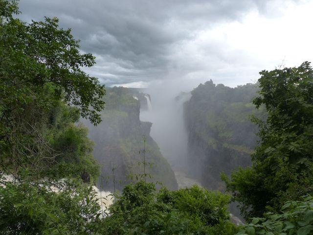 The Victoria Falls Chasm