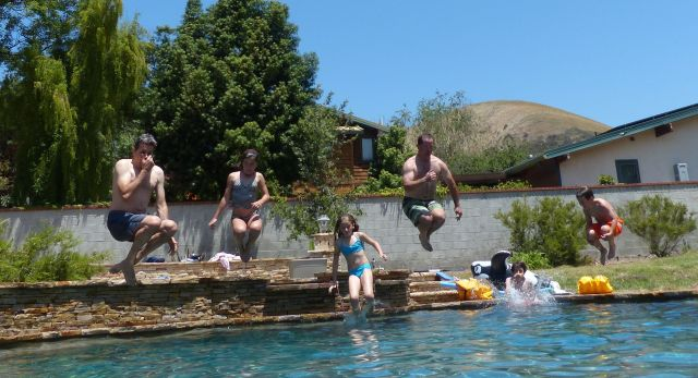 Pool Jumping