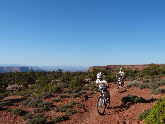 On the rim of Canyonlands