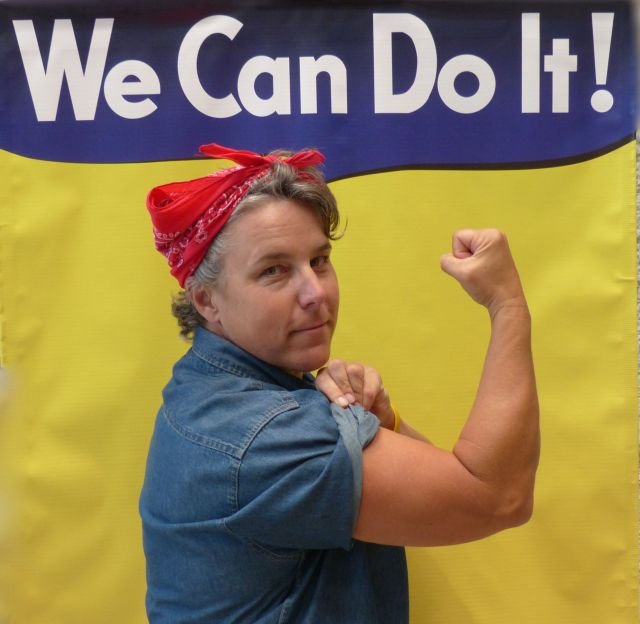 Debbo the Riveter