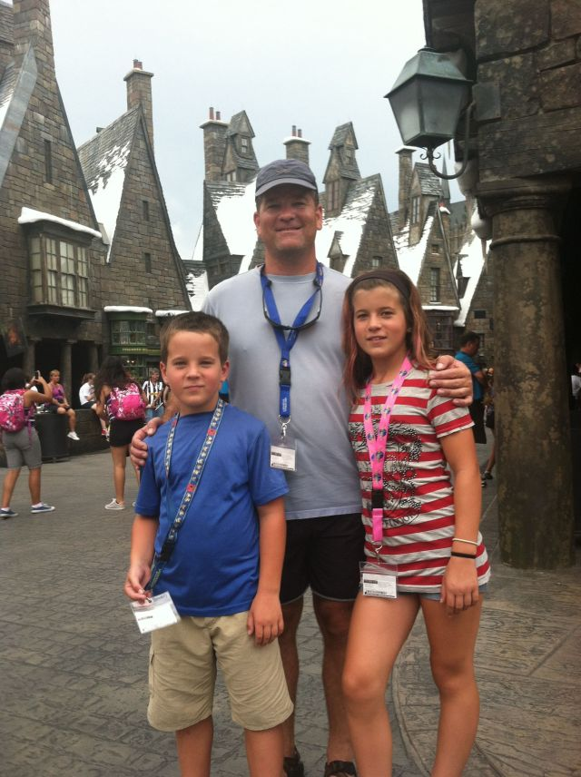 The Shindell's at Hogsmeade