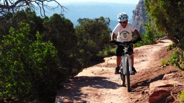 Biking at Canyonlands/Moab