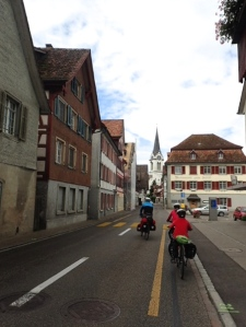 Bike lanes are everywhere