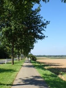 The road from Aachen to Maastricht
