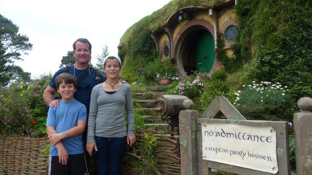 The pilgrimage to Bilbo's House