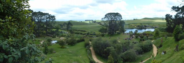 The view of Hobbiton