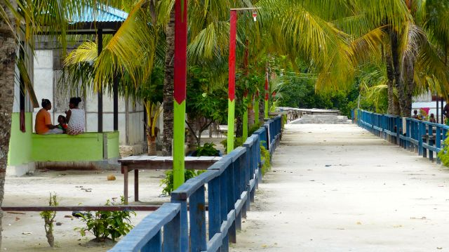The village near our resort - extremely tidy and nothing for sale