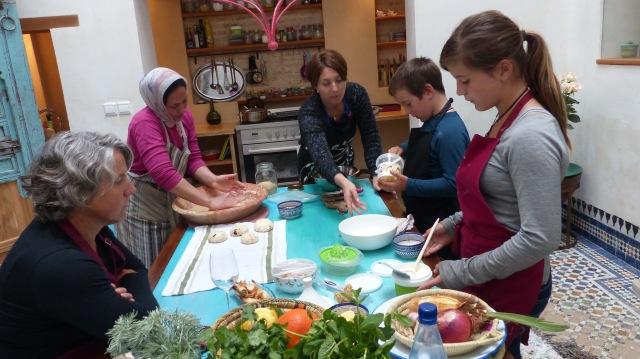Cooking with Tara and Ms. Rashida