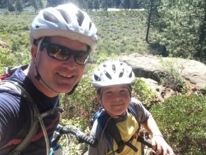 Colburn and Mac Mountain Biking