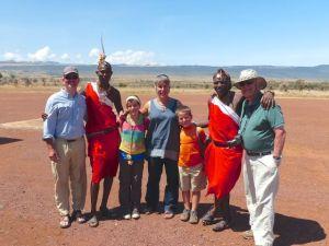 Leaving Lewa Conservancy Kenya